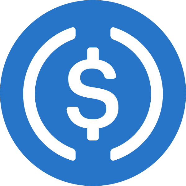 Logotipo do USD Coin