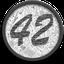 Logotipo do 42-coin