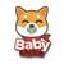 Logotipo do Baby Shiba