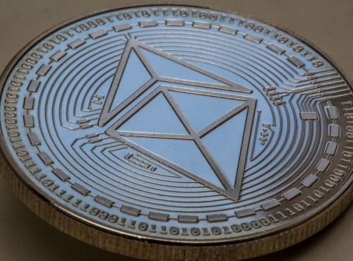 GERMANY, BONN - MAY 20: Symbol photo on the topics cryptocurrency, digital currency, power consumption, etc. The picture shows an Ethereum coin (physically). (Photo by Ulrich Baumgarten via Getty Images)